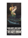 The Lights of London Print