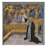 Mystic Marriage of Saint Catherine of Siena Prints by Giovanni di Paolo