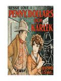 "Penny of Top Hill Trail ""Penny, Dollars Och Karlek"" Prints"