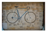 Bicycle in Tongues Premium Giclee Print by Jason Pierce