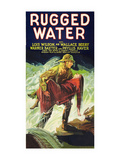 Rugged Water Posters