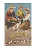 The Cowboy Musketeer Print