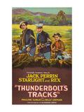 Thunderbolt's Tracks Posters