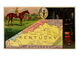 Kentucky Posters par  Arbuckle Brothers
