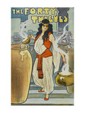 The Forty Thieves Print