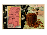 Mississippi Prints by  Arbuckle Brothers