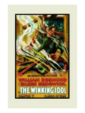 The Winking Idol Poster