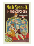 Divorce Dodger Premium Giclee Print by Mack Sennett