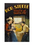 South of Santa Fe Plakater