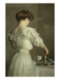Tea Leaves Posters by William McGregor Paxton