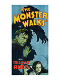 The Monster Walks Posters
