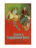 Jane's Engagement Party Posters