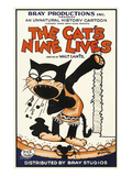 The Cat's Nine Lives Art by  Bray Productions