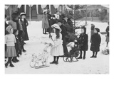Midwinter Carnival, Children's Parade, Doll Sleds Posters