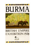 British Empire Exhibition - Burma Art