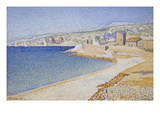 Jetty at Cassis, Opus 198 Bilder av Paul Signac