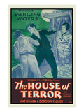 The House of Terror - Swirling Waters Poster