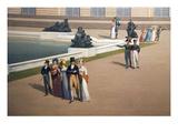 Palace and Gardens of Versailles Poster von John Vanderlyn
