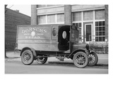 Dorsch's White Cross Bread Delivery Truck Poster