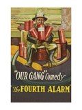 "The Fourth Alarm - ""Our Gang"" Poster"
