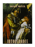Intolerance Poster by D.W. Griffith