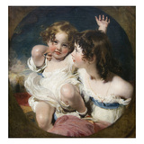 Calmady Children Plakater af Thomas Lawrence