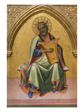 David with Lyre Premium Giclee Print by Lorenzo Monaco