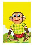 Walking Monkey Posters