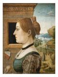 Portrait of a Woman Ginevra D'Antonio Lupari Gozzadin Prints by  Maestro delle Storie del Pane
