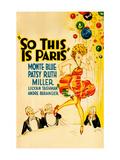 So This Is Paris Prints