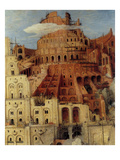Tower of Babel - Detail Art by Pieter Breughel the Elder