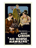 40 Horse Hawkins (Forty) Print
