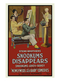 Snookers Disappears Posters