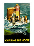 Chasing the Moon Prints