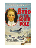 With Byrd at the South Pole Prints