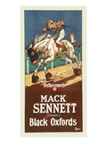 Black Oxfords Prints by Mack Sennett