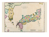 Japan and Korea Print by Joan Blaeu