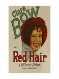 Red Hair Affiches