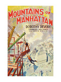 Mountains of Manhattan Posters