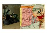 Rhode Island Prints by  Arbuckle Brothers