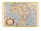 Africa Art by Jodocus Hondius