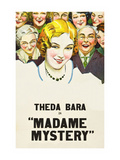 Madame Mystery Posters
