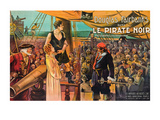"Black Pirate ""Le Pirate Noir"" Prints"