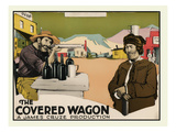 The Covered Wagon Art