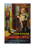 The Phantom of the West - Fatal Secret Posters