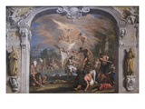 The Baptist of Christ Prints by Sebastiano Ricci