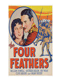 The Four Feathers Prints