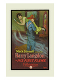 His First Flame Art by Mack Sennett