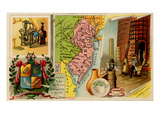 New Jersey Prints by  Arbuckle Brothers