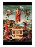 Resurrection of Christ Print by  Raphael
